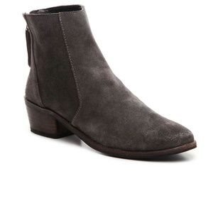 Dolce Vita Grey Suede Kat Boots
